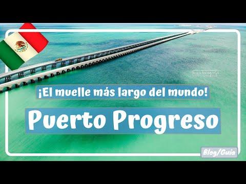 Puerto Progreso, Yucatán, Que ver y hacer. El muelle MÁS LARGO DEL MUNDO - Yucatán #6 Luisitoviajero