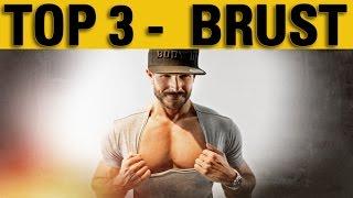 Die Top 3 Brustübungen für eine massive Brust