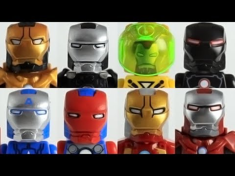 Part 3 Custom Lego Marvel Iron Man minifigure collection