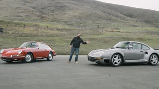 Что было до Porsche 911: Porsche 901 и Porsche 959 | MotorTrend на русском