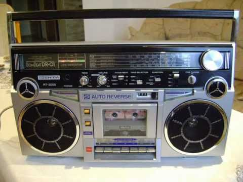Vintage 80's GENERAL ELECTRIC boombox Ghetto Blaster  |80s Boombox