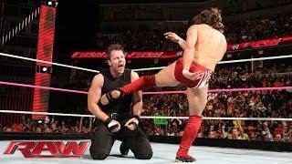 Daniel Bryan vs. Dean Ambrose: Raw, Oct. 21, 2013