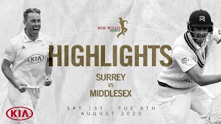 A tense finish to the Bob Willis Trophy opener | Surrey v Middlesex Day Four highlights