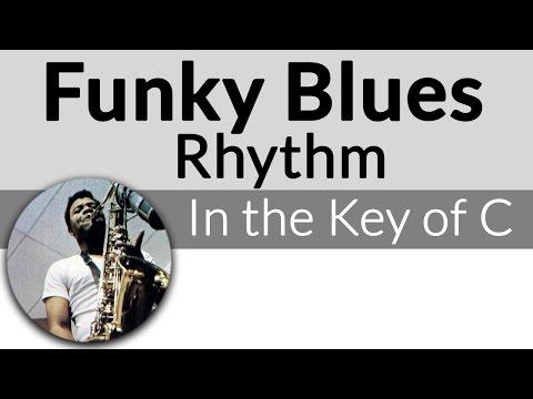 Funky Blues Rhythm in C-Funky Blues Guitar Lesson