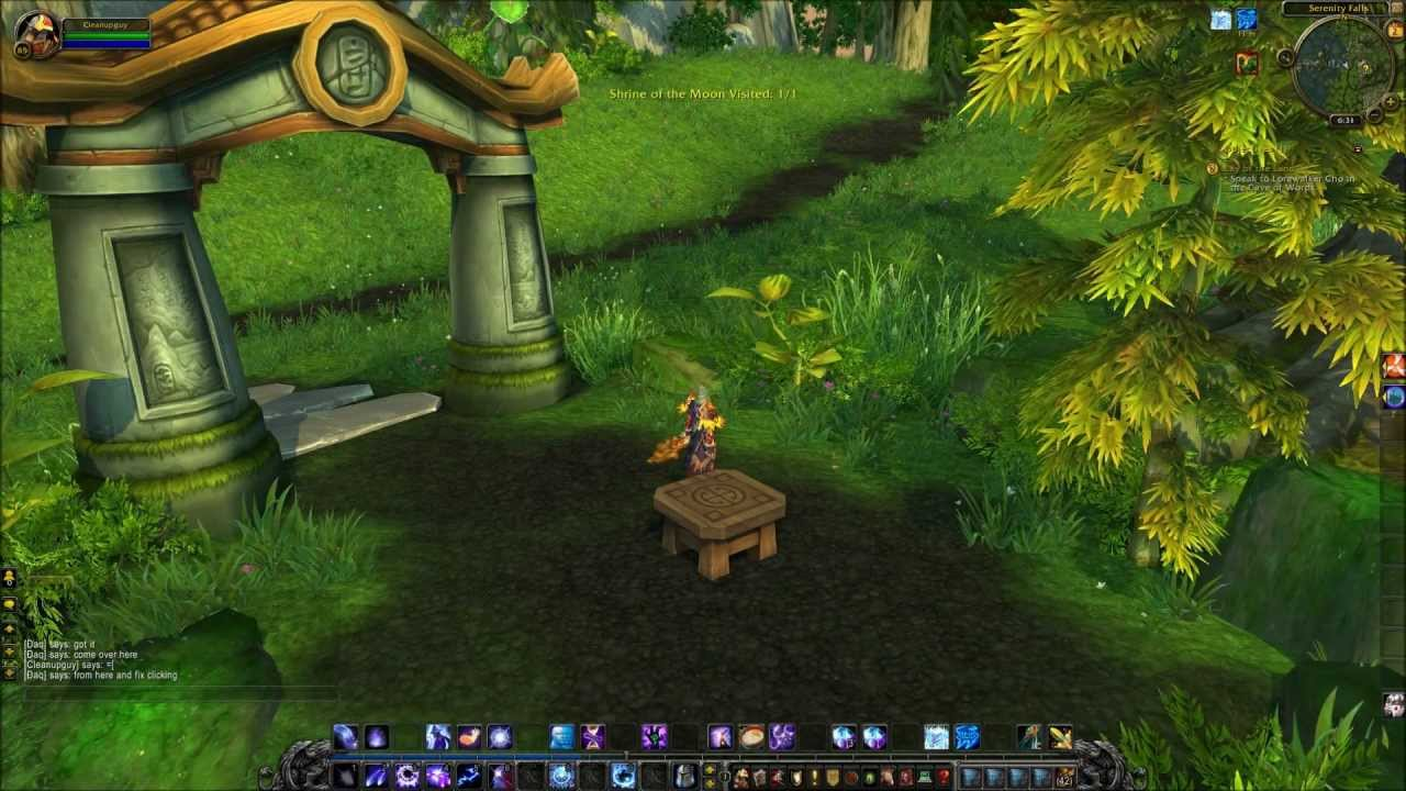 "World of Warcraft Mists of Pandaria ""Lay of the Land ..."