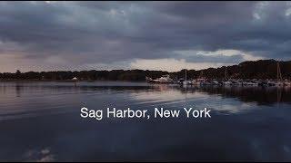 HAMPTONS DRONE FLIGHT: Sag Harbor, Long Island, New York