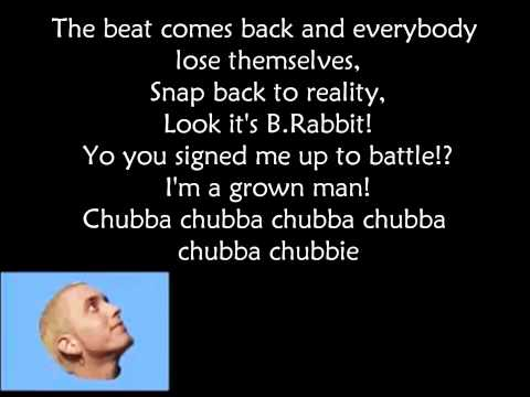 Eminem - Just lose it (lyrics on screen)