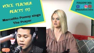 â«· Voice Teacher Reacts to âž Marcelito Pomoy sings The Pr...