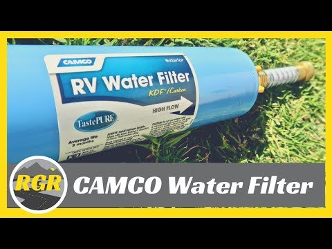 Camco Tastepure Water Filter Product Review Easy To Use Rv Water Filter Youtube