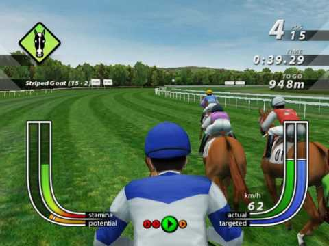 Melbourne Cup Horse Racing Game!