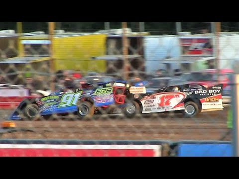 WoO Late Model Heat 1 at Merritt Speedway on 8-26-16