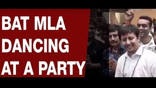 BJP MLA Akash Vijayvargiya dancing at a party |NewsX