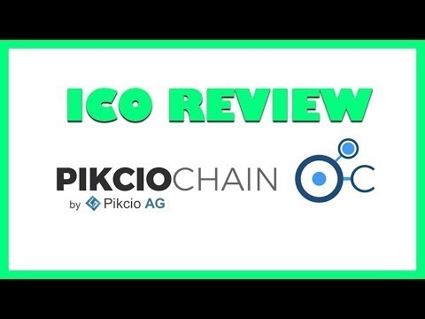 PikcioChain ICO Review - Blockchain Based Exchange of Personal Data