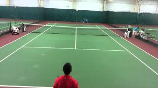 Amateur Tennis, 3.5 vs 4.0  - Vagner Godoi and Karl