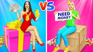 RICH SCHOOLGIRL vs BROKE SCHOOLGIRL! || 8 Awesome Stories At School by RATATA