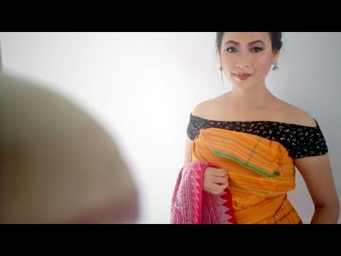 How to wear boro/bodo traditional dress dokhona by bagurumba methai/song