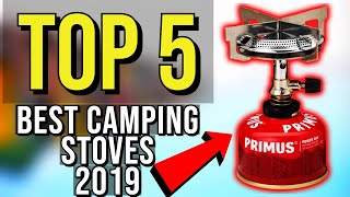 ✅ TOP 5: Best Camping Stove 2019