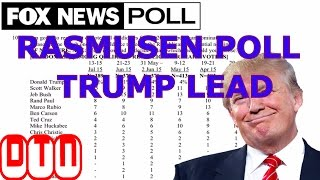 Rasmussen Poll : Donald Trump Leads Hillary Clinton By Two Points