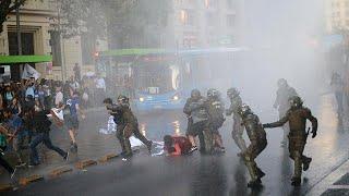 Protestas en Chile tras una decisión del Supremo contra la reforma educativa