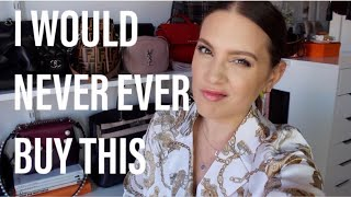 5 LUXURY ITEMS I WILL NOT BUY NO MATTER THE HYPE | MELSOLDERA