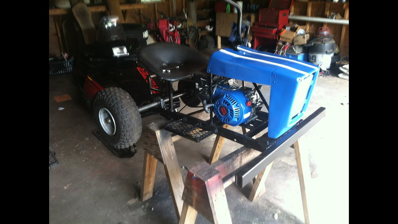 Lawn Mower Racing >> Huffy racing mower build - YouTube