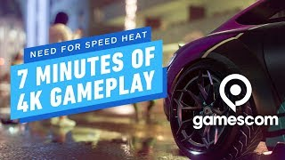 7 Minutes of Need for Speed Heat 4K Gameplay - Gamescom 2019