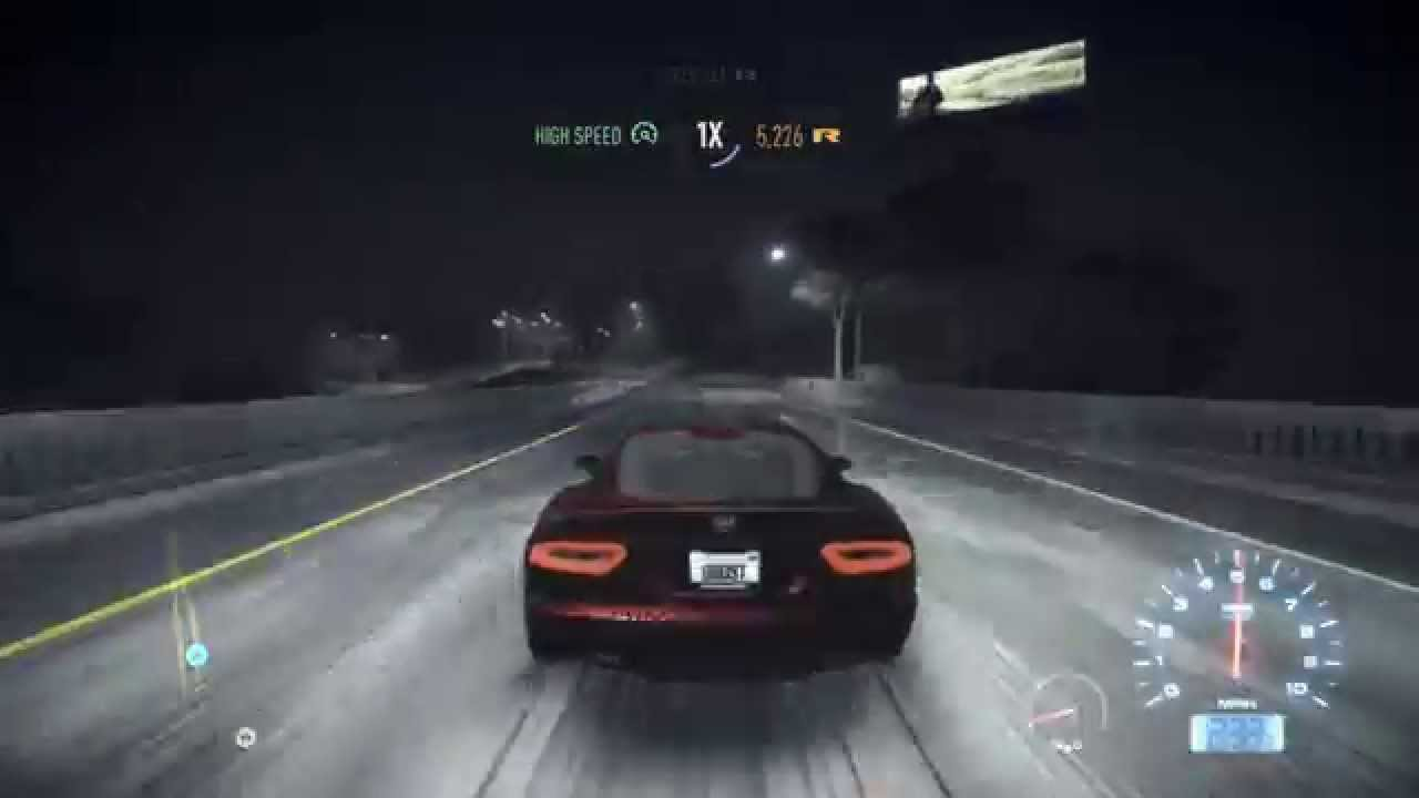 Need For Speed (2015) Dodge Viper SRT Top Speed (Full Upgrades ...