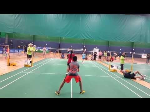 XD U15 - Kent Vu, Grace Vu vs Alick Tin Heng Yu, Lara M Espina