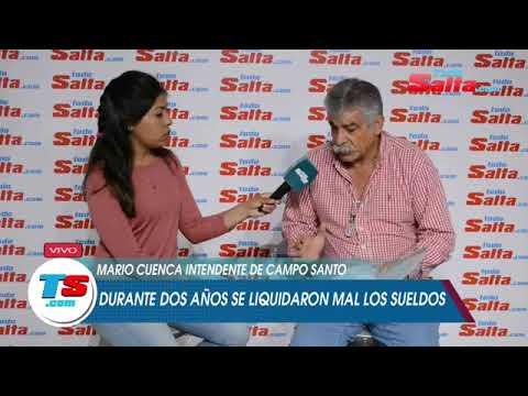 MARIO CUENCA INTENDENTE DE CAMPO SANTO