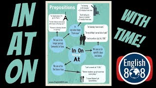 The prepositions In, At and On - with time