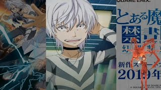 To Aru Majutsu no Index Anime Japan 2019 Accelerator touch screen