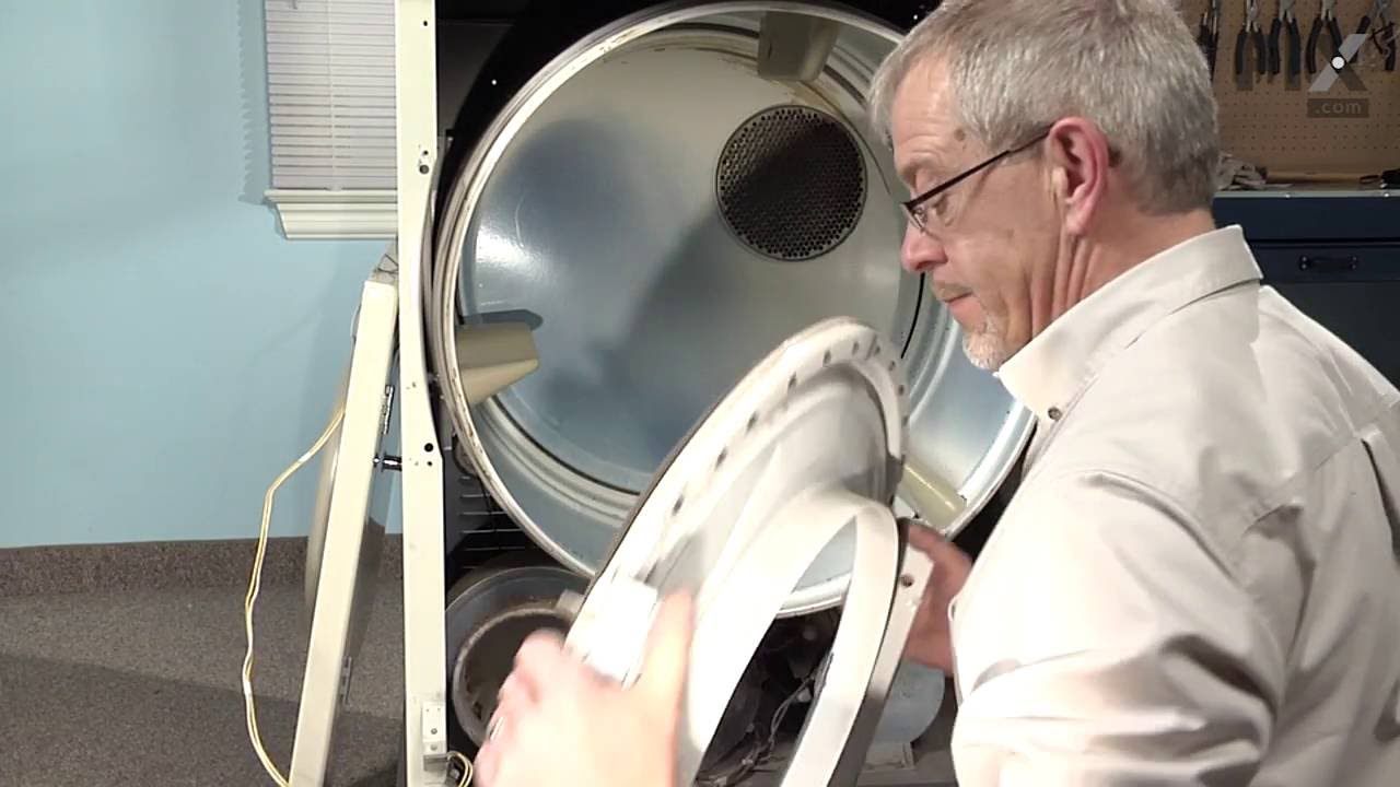 Maytag Dryer Repair How To Replace The Drum Roller Youtube Diagram