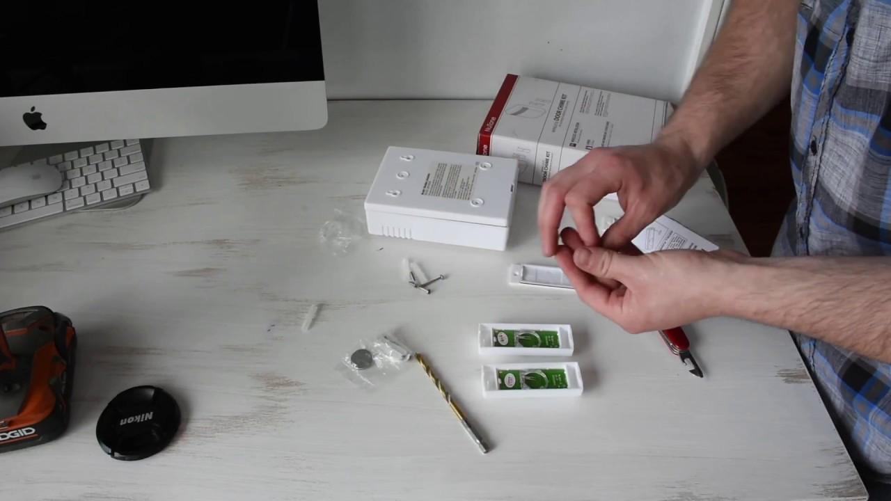 How to Install a Wireless Door Chime (doorbell) - YouTube