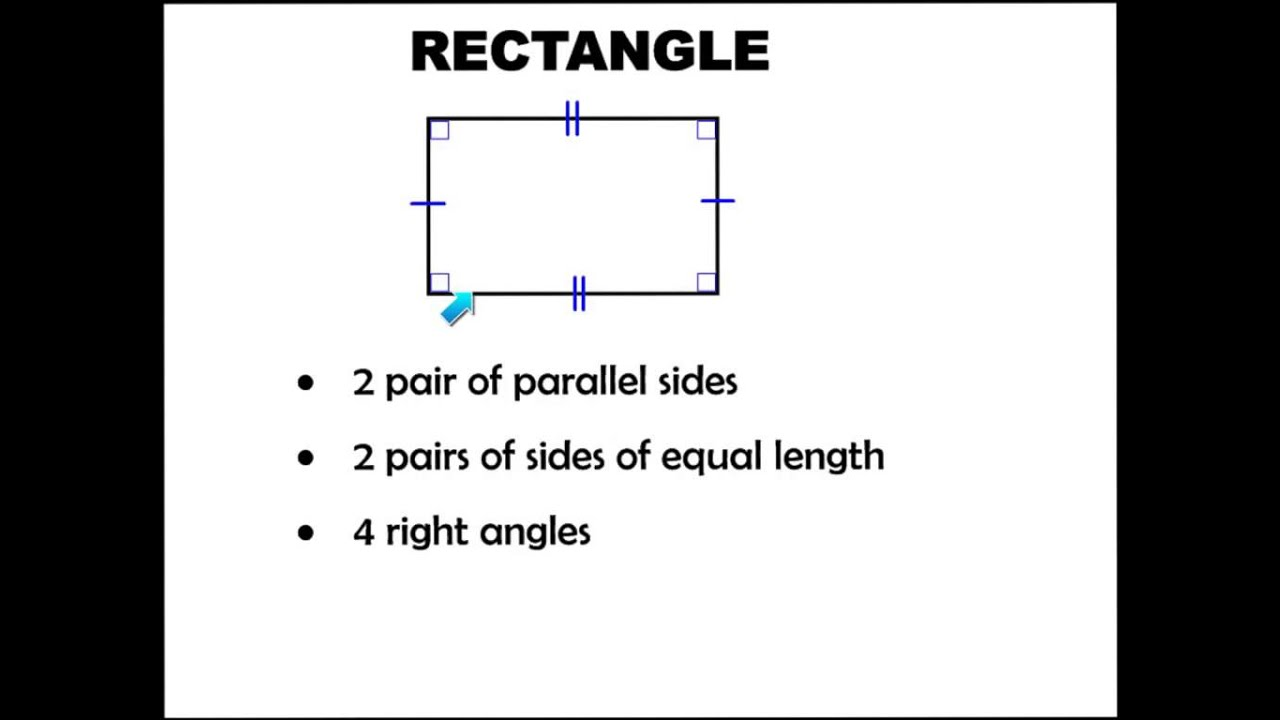hight resolution of Lesson 10.4 Classify Quadrilaterals - YouTube