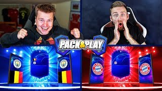 NIEBIESKI WALKOUT w PACK & PLAY! 😱 FIFA 19 🔥 /w Jcob