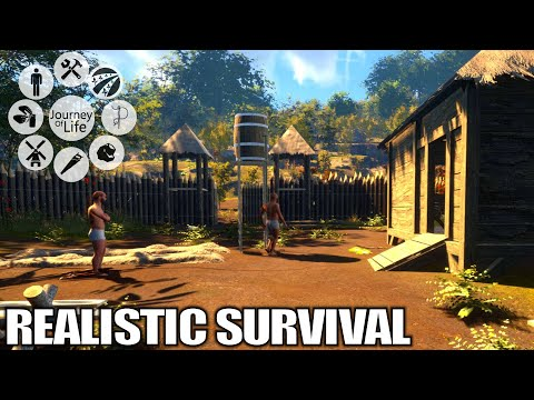 Most Realistic Survival Game? | Journey Of Life Gameplay | E01