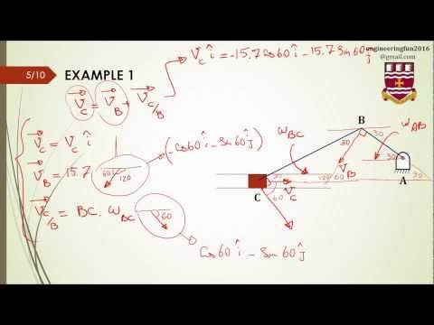 Relative Motions ( Relative Velocities)