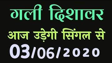 (03-06-2020) ||Satta desawar||sattagali||satta king|| today satta number loss cover