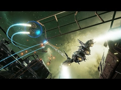 11 New Minutes of EVE Valkyrie Oculus VR Gameplay - IGN Plays