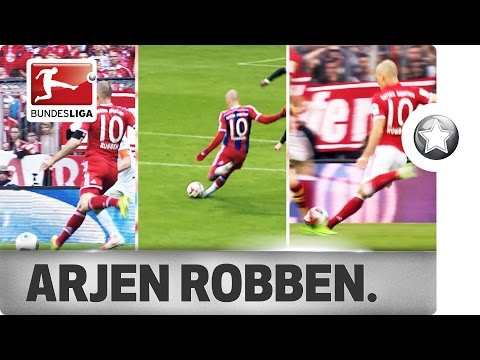 Robben's Signature Move - Predictable but Unstoppable
