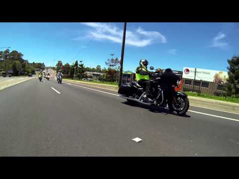 Kawasaki Australia Staff Ride Day