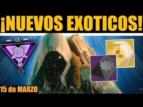 Destiny 2: Localización de Xur! Exóticos! Invitaciones de los Nueve! Contratos! | 15 de Marzo thumbnail
