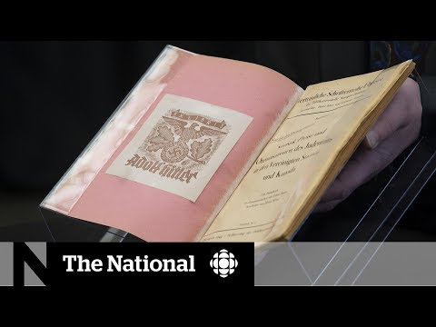 Canada's national library acquires book that belonged to Hitler