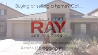 Golf Course Lot Bungalow - Home With A Pool For Sale In Maricopa Arizona