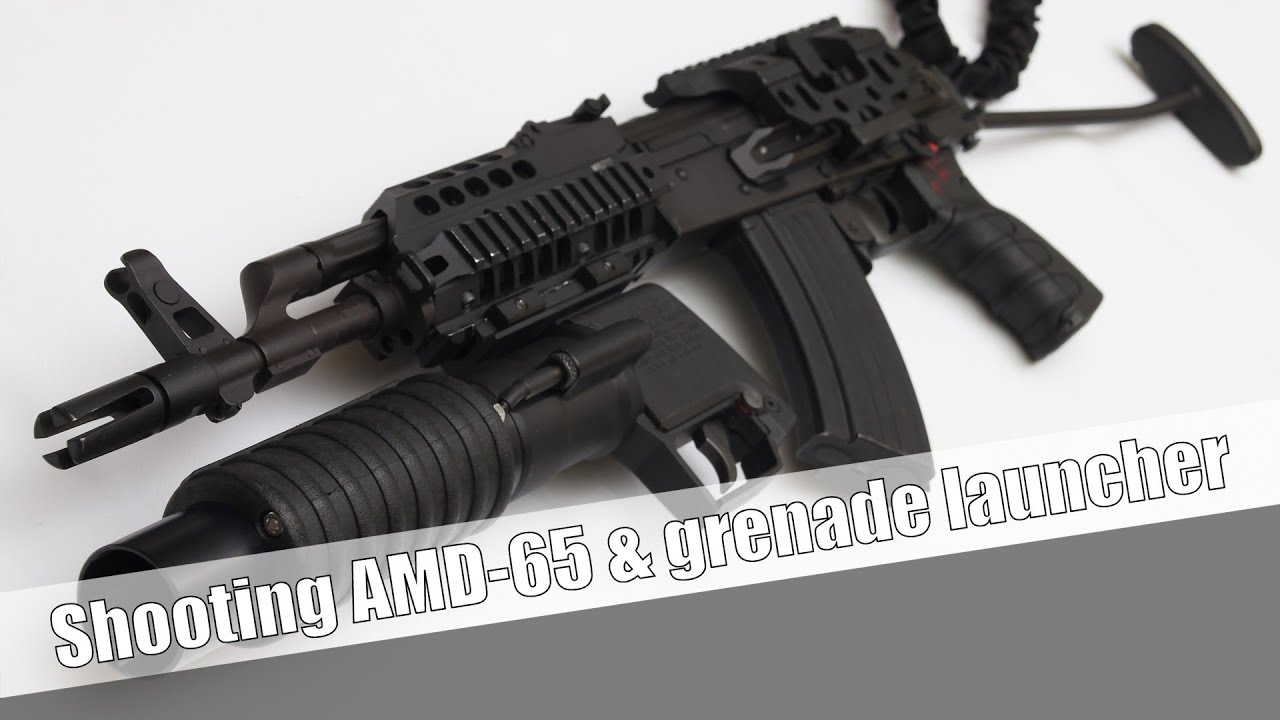 Shooting the Modernized FÉG AMD-65 full auto & grenade launcher by  ShootingPress International