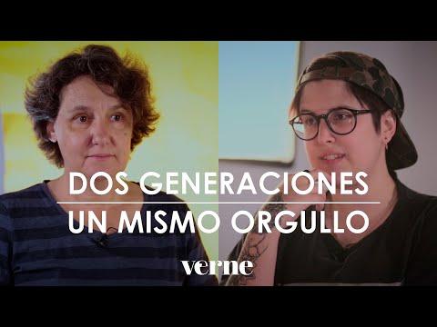 Beatriz Gimeno y Melo Moreno: dos generaciones, un mismo orgullo lésbico | VERNE