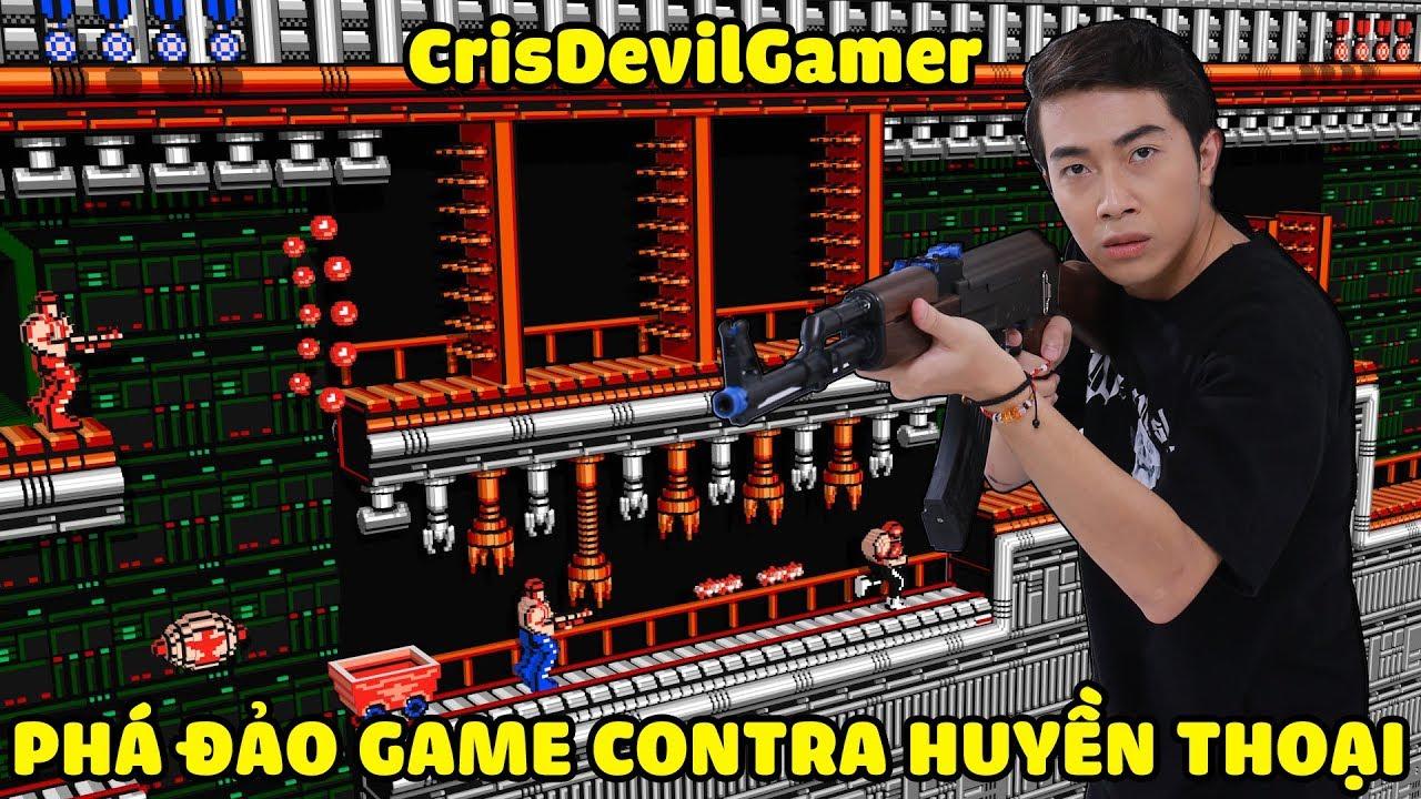 CrisDevilGamer PHÁ ĐẢO GAME CONTRA HUYỀN THOẠI