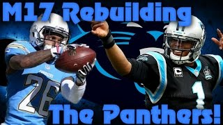 Madden 17 Franchise Rebuilding The Carolina Panthers! Bustville Usa! 2017 Video
