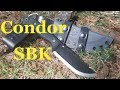 Condor SBK (Straight Back Knife) First Look and Impression