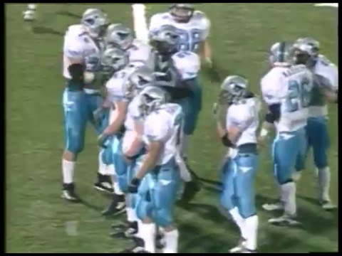 2001 IHSA Boys Football Class 8A Championship Game: Downers Grove South vs. Naperville Central